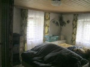 geschimmeltes Schlafzimmer