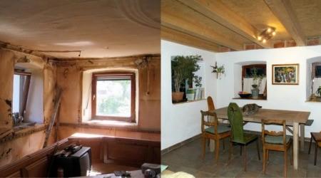 Küche vorher und nachher