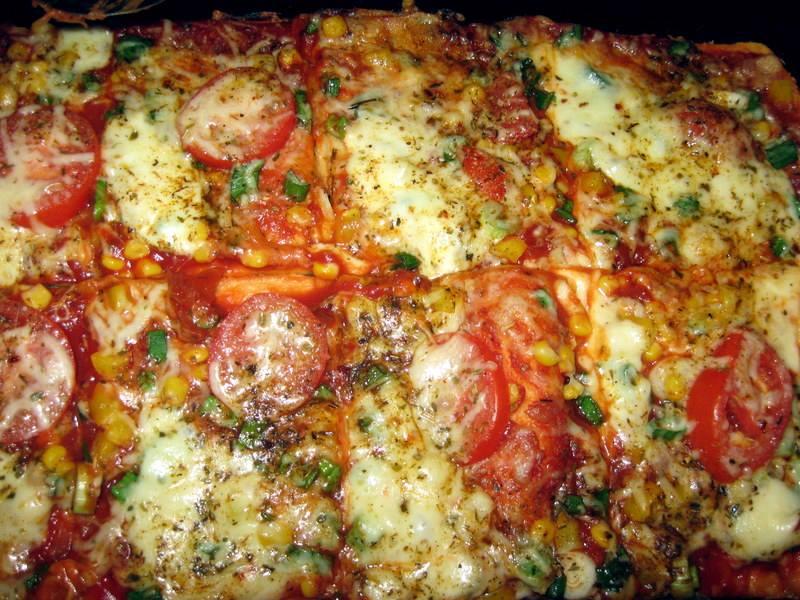 Pizza Russo Vegetaria