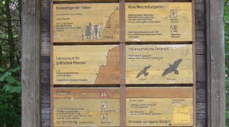 Informationstafel Kleiner Falkenstein