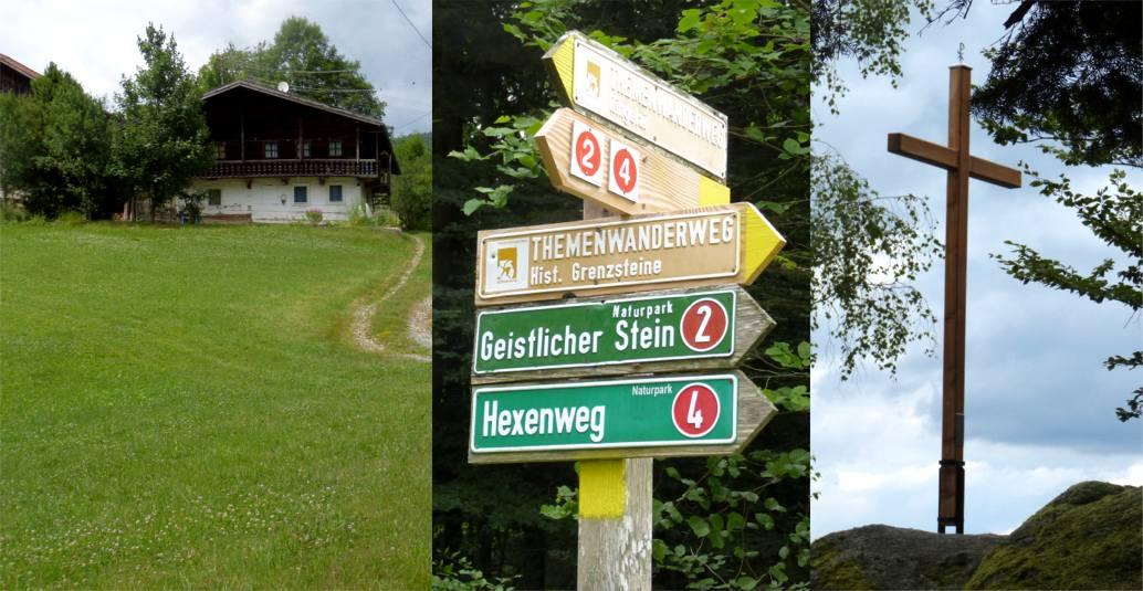 Heindlmuehle - Geistlicher Stein